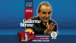 EN VIVO Moreno charla en Mar del Plata 16hs - Resistiendo con Aguante