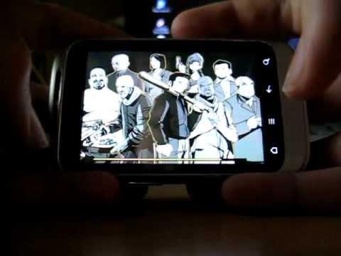 GTA 3 on HTC Wildfire S