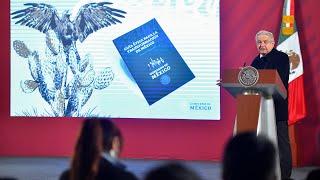 Presentación de la Guía Ética para la Transformación de México. Conferencia presidente AMLO