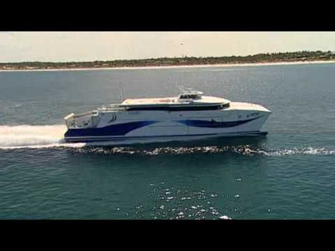 """Shinas"" - Fastest diesel-powered catamaran ferry in the ..."