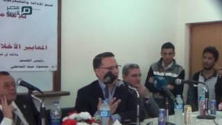 مصر العربية | شريف عامر:بدايتي كانت بالانجليزىة وغيرت للعربية علشان اشتغل