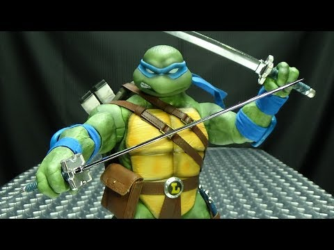 DreamEx Teenage Mutant Ninja Turtles LEONARDO: EmGo's Ninja Turtles Reviews N' Stuff