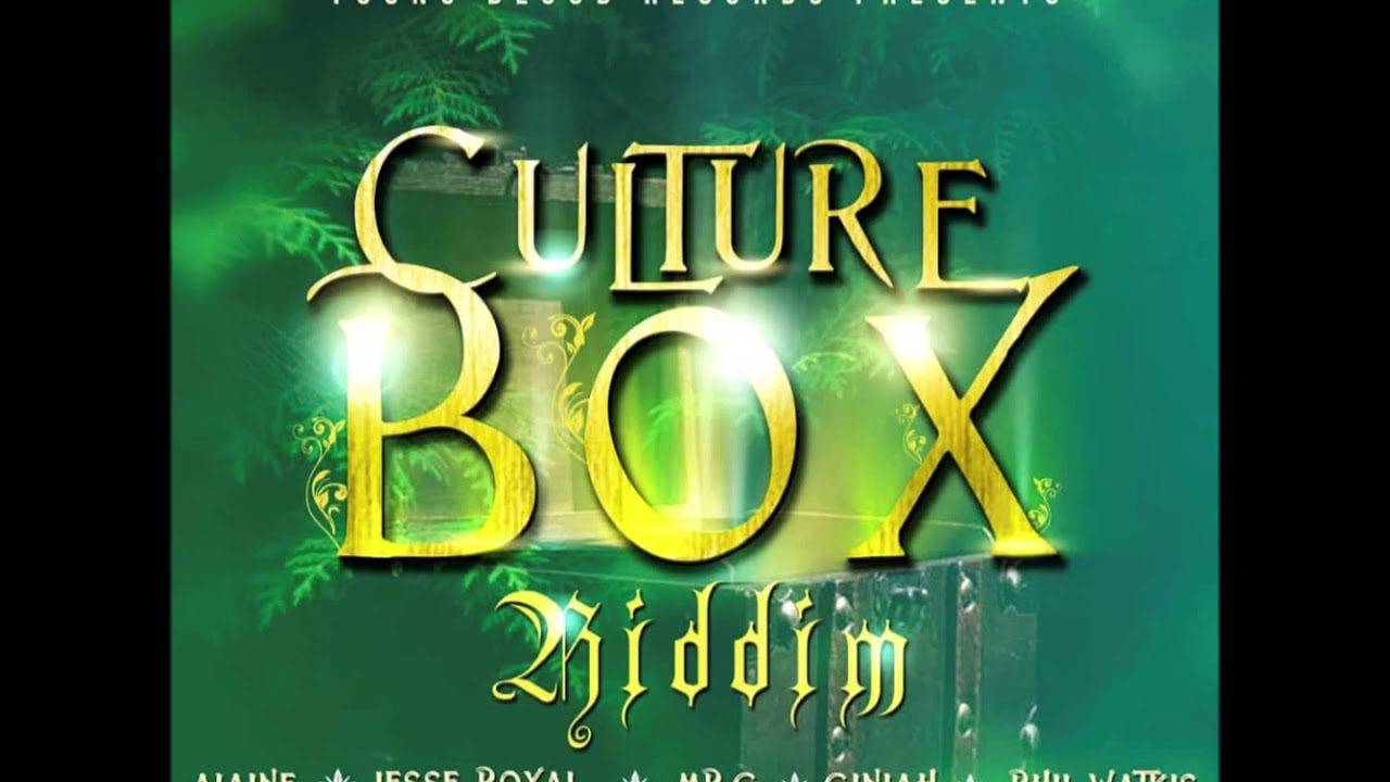 Ginjah - Drawing  (  Culture Box Riddim Clean  )
