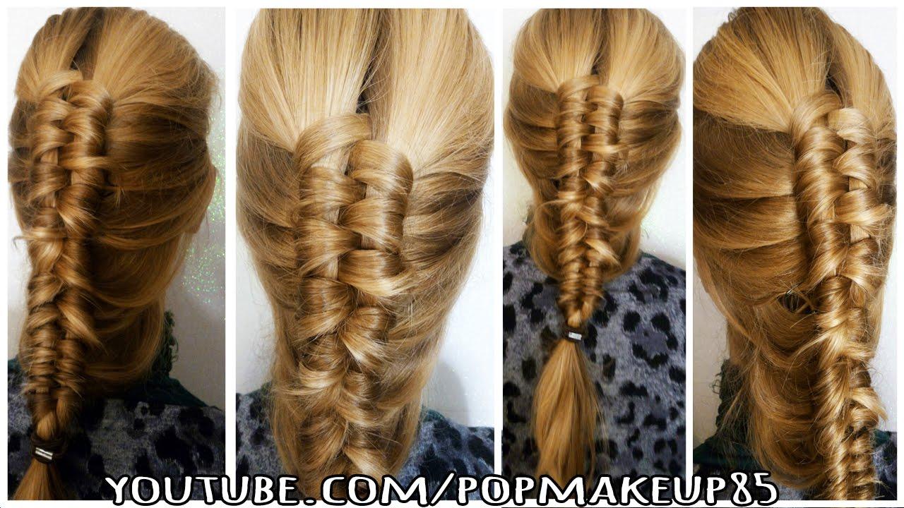 Come fare trecce per capelli medi