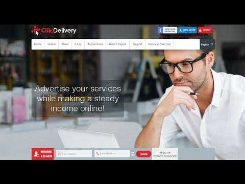 شرح ClikDelivery لـ الإستثمار