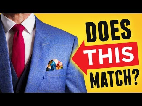 Match Tie & Pocket Square (PERFECTLY Every Time!) Ultimate Guide To Matching Ties & Handkerchiefs