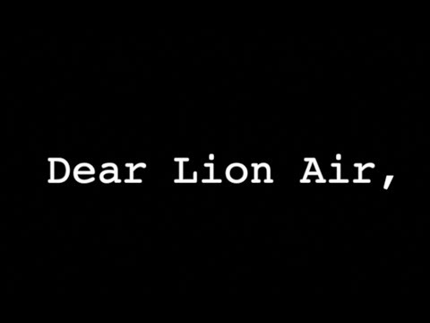 Dear Lion Air,