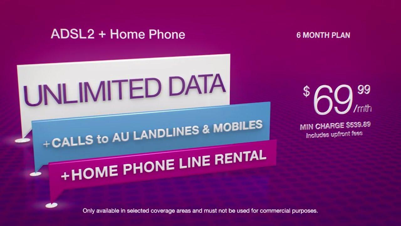 TPG $69 99 ADSL2+ with Home Phone Bundle