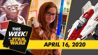 LEGO A-Wing Starfighter Reveal, Star Wars: The Clone Wars Anthology Book Cover, and More!
