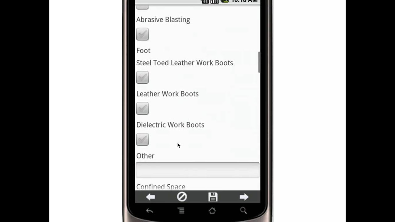 Canvas Job Safety Analysis Mobile App