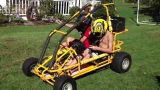 190 CC Two Seater Go Kart