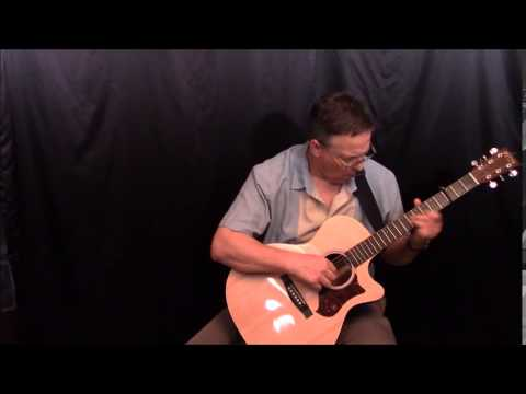 Summertime solo guitar   performed  Chris Foster