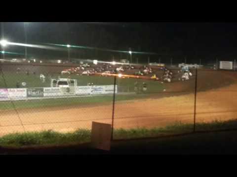 USAC Sprint Car Feature Part 1/2  Bloomington Speedway