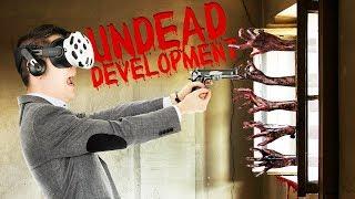 Defend Your Base! Steam Update! - Undead Development Gameplay - VR HTC Vive