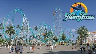 HangTime new dive roller coaster announcement at Knott's Berry Farm