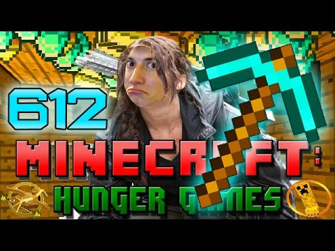 Minecraft: Hunger Games w/Mitch! Game 612 - Diamond Pickaxe History!