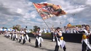2014.11.3 左岸広場ステージでの演舞です。
