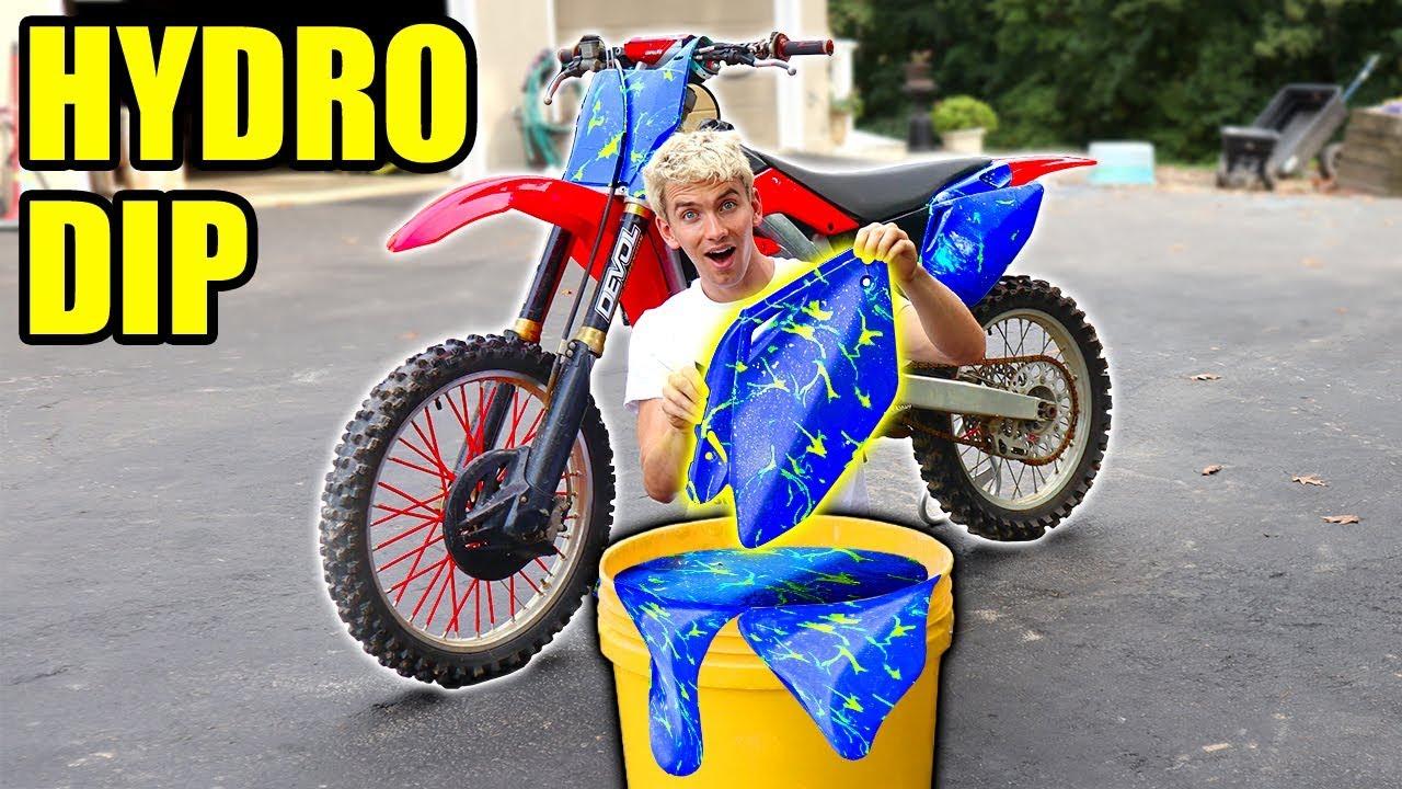 Hydro Dip Dirtbike Youtube