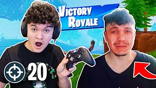 1 KILL= 1 PRANK ON BOYFRIEND w/Jarvis *Fortnite Challenge*