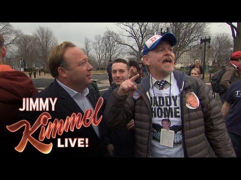 Jake Byrd at Trump Inauguration