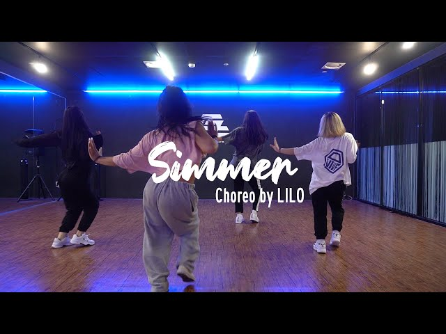 EZDANCE I 동탄점 I 이지댄스 I Mahalia - Simmer I GIRLISH BEGINNER I CHOREO by LILO