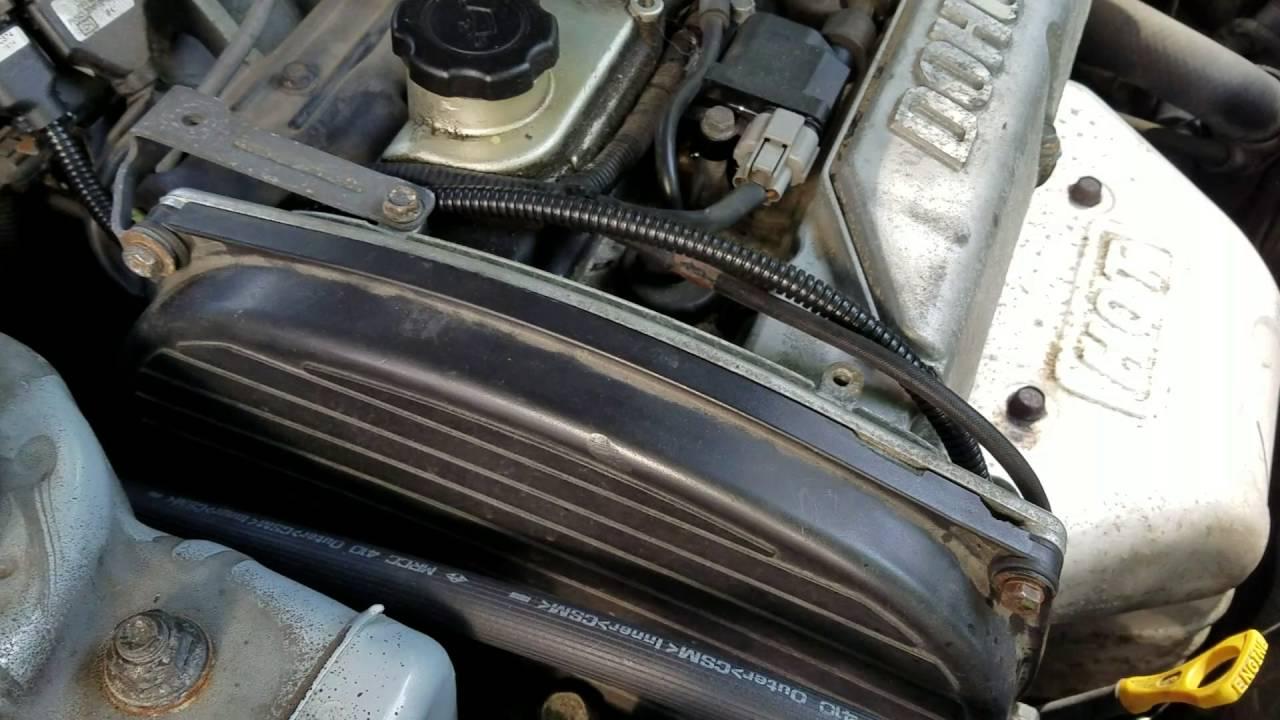 2004 Hyundai Sonata Timing Belt Marks