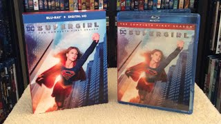 Supergirl: The Complete First Season Blu Ray Unboxing & Review