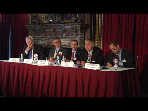 2016 New York Maritime Forum - Investments in Container Leasing Panel