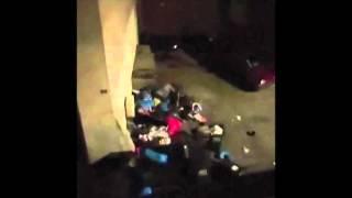 L'assaut du RAID à Saint-Denis filmé depuis l'immeuble d'en face