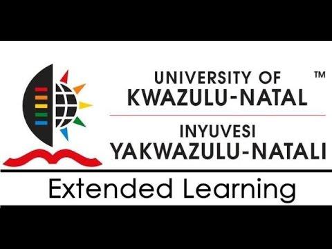 University of KwaZulu-Natal Extended Learning Year End