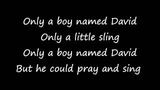 Only A Boy Named David with lyrics - The London Fox Players
