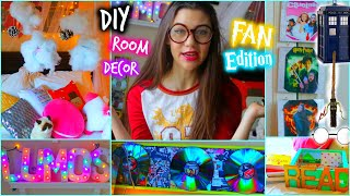 Diy Room Decor: Fan Edition + Tumblr Inspired