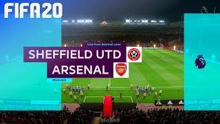 FIFA 20 - Sheffield United vs. Arsenal @ Bramall Lane