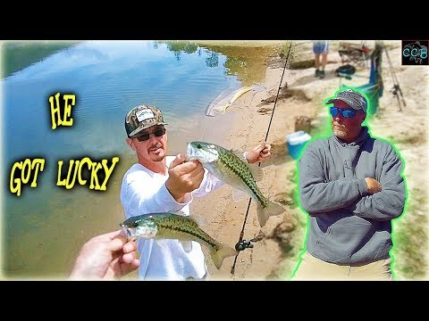 BASS FISHING CHALLENGE *ultra Clear Water*!!!
