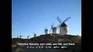 Jacques Brel - Don Quichotte, l`Homme de la Mancha.flv