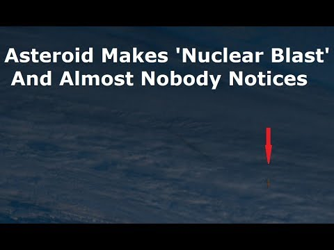 173 Kiloton Explosion Over Bering Sea Was Asteroid Breaking Up