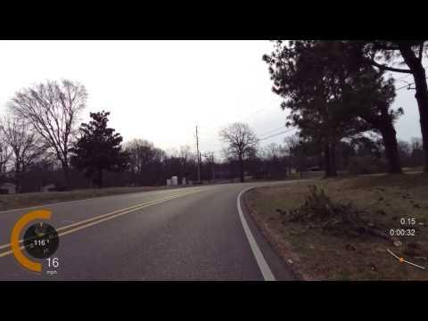 DUMB Truck passes cyclist way too close.