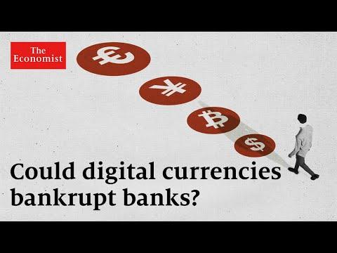 ¿Podrán las monedas digitales desplazar a los bancos del mercado?