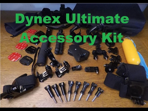 Dynex Ultimate GoPro Accessory Kit Review