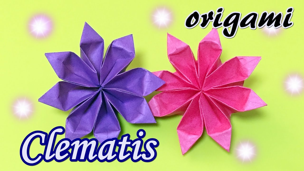 How to make rose paper flower | Easy origami flowers for beginners ... | 720x1280