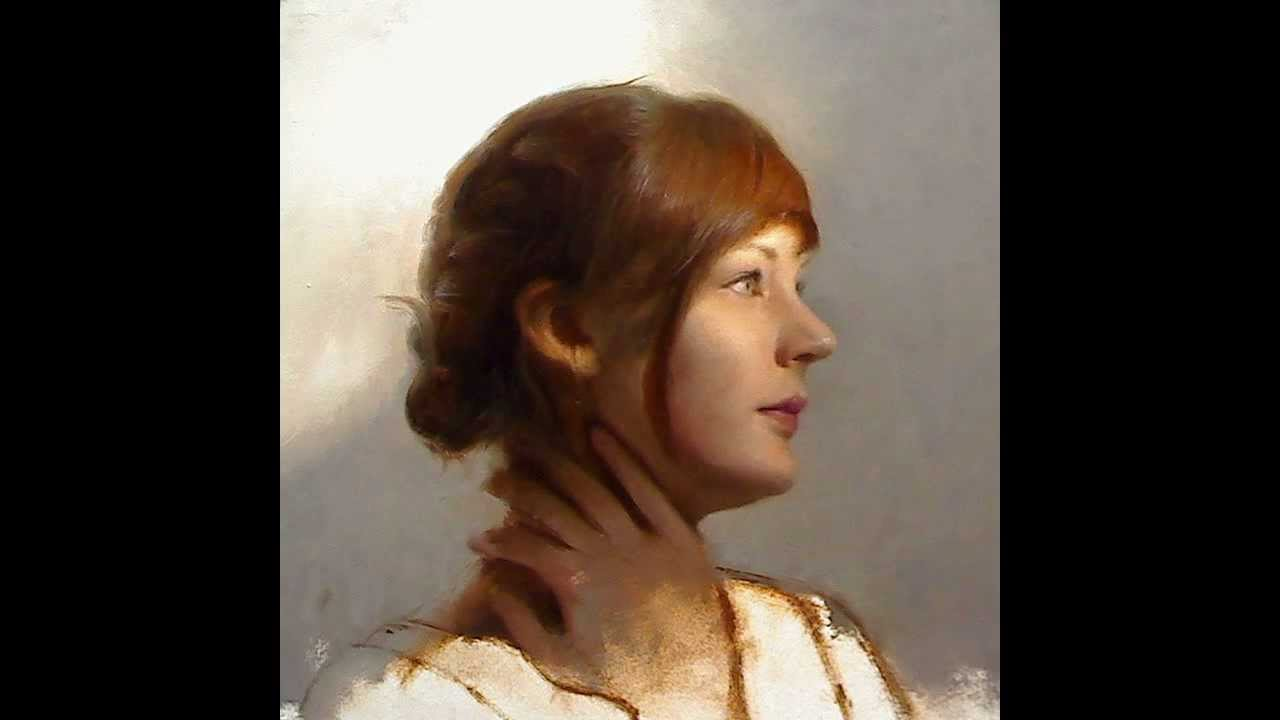 Youtube Oil Portrait Painting Demo