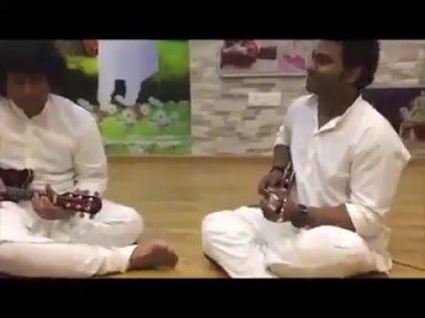 Mandolin Rajesh And Music Director Devi Sri Prasad (DSP) Playing Mandolin