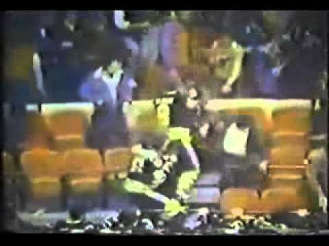 Boston Bruins Go Into The Stands In 1979