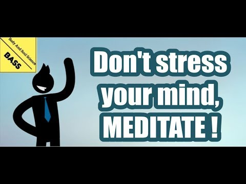 SIMPLE MEDITATION TECHNIQUE TO REDUCE STRESS | 5 benefits of Meditation