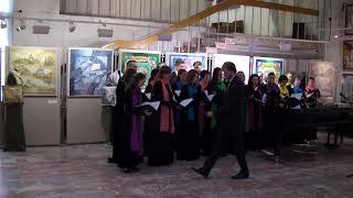 Выступление Троицкого камерного хора в Выставочном зале ТРИНИТИ 11.09.2020