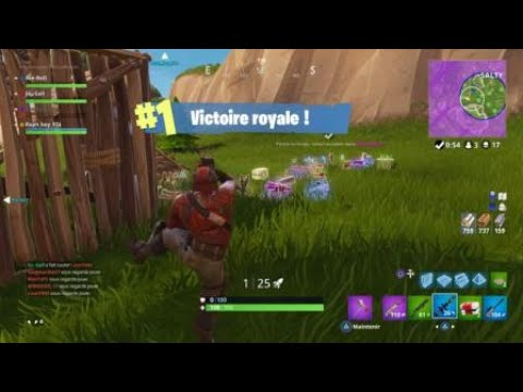 Fortnite ma plus belle game. Record personnel 17 kills
