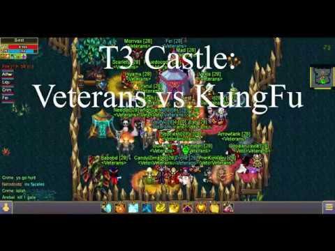 Warspear Online - Castle War (Veterans Vs KungFu)