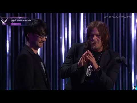 Hideo Kojima and Norman Reedus - Game Awards 2017 HD streaming vf
