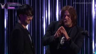 Hideo Kojima and Norman Reedus - Game Awards 2017 HD