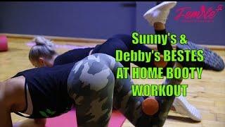 Sunny Knows & Debora Gabriella   Bestes Booty Workout für zu Hause - Femaleplus powered by Zecplus